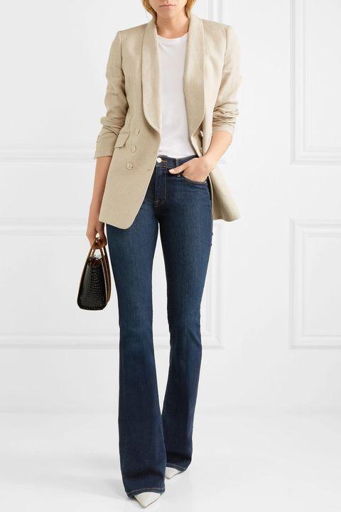 jeans 2018, moda jeans 2018, moda jeans 209, tendenza jeans 2018, jeans flare 2018, jeans a vita larga 2018