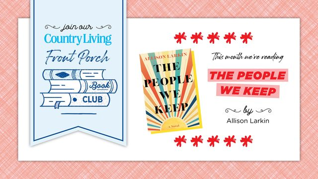 this month we're reading allison larkin's the people we keep
