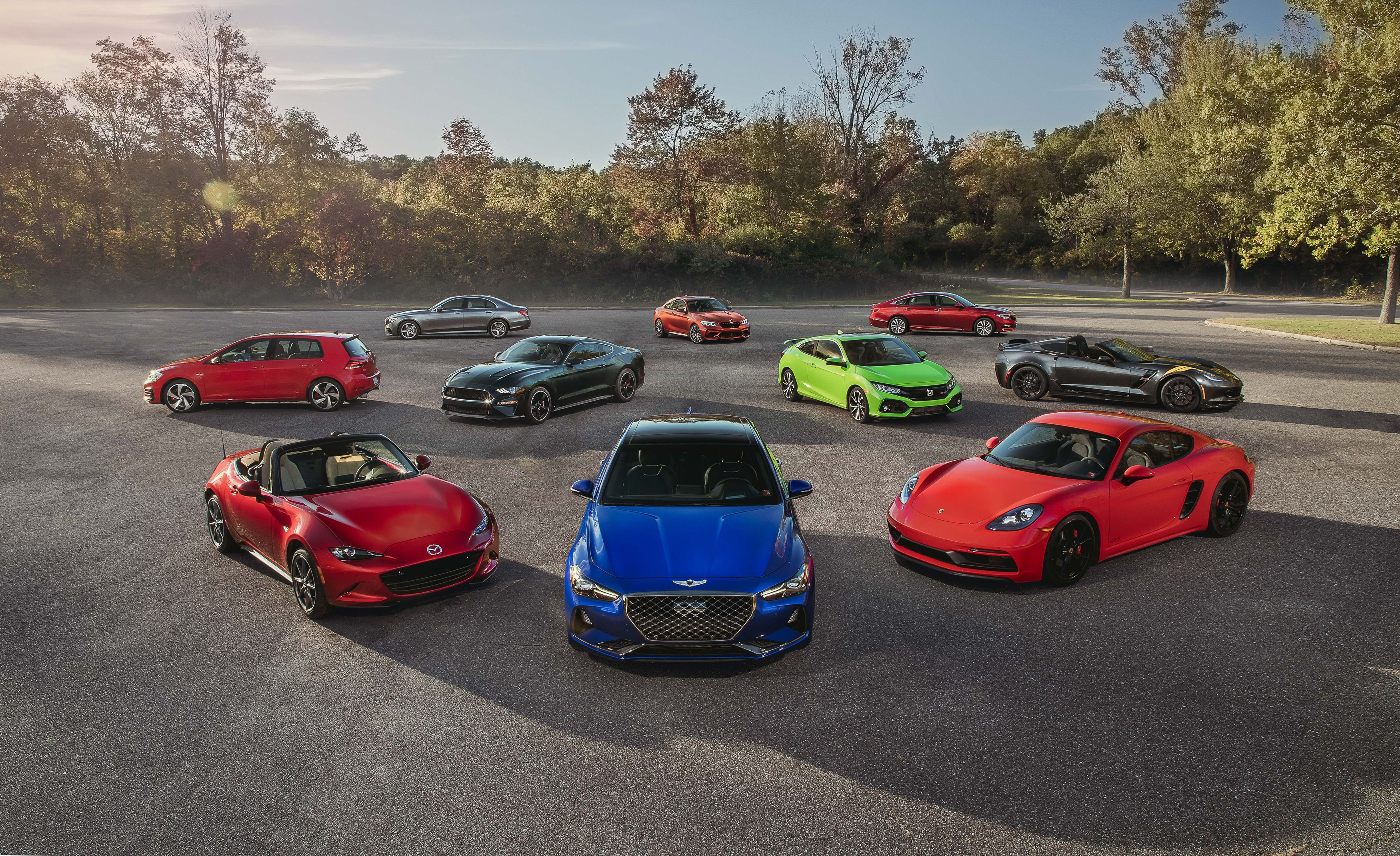 2019 10best cars