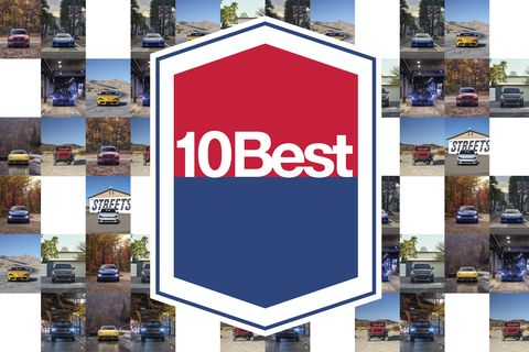 Letter from the Editor-in-Chief on Car and Driver's 2020 10Best