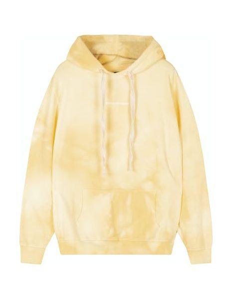 10days oversized hoodie met dip dye