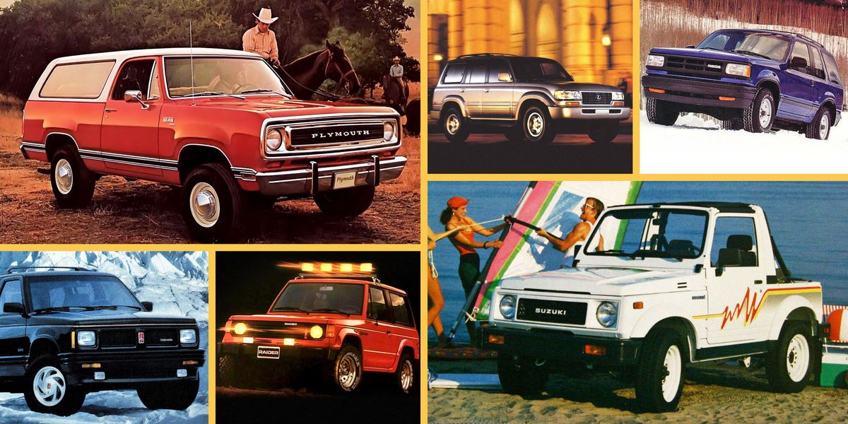 10 SUVs You Almost Never See These Days