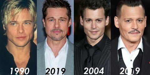 好萊塢男星10年對比照特輯!布萊德彼特、李奧納多等6位男星青澀照片公開