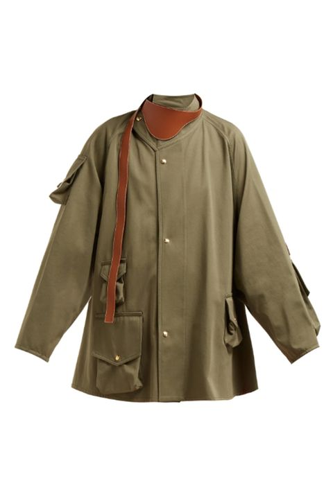 Clothing, Sleeve, Outerwear, Khaki, Jacket, Beige, Blouse, Coat, Top,