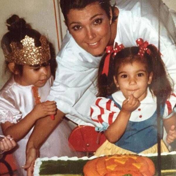 Young Photos of the Kardashians