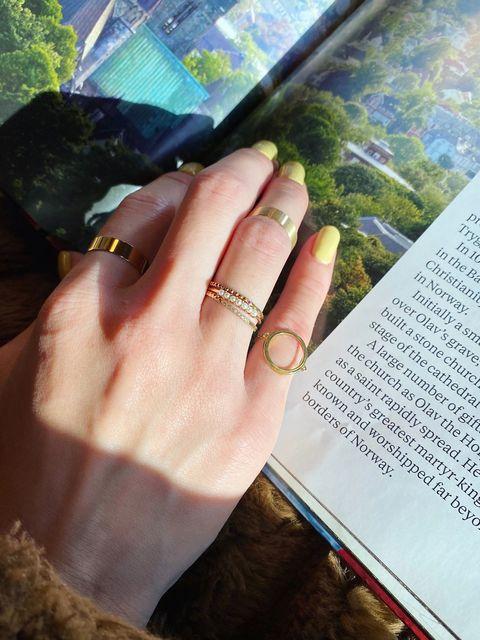 Finger, Hand, Nail, Adaptation, Material property, Book, Gesture, Ring, Thumb, Publication,