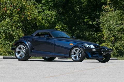 Land vehicle, Vehicle, Car, Plymouth prowler, Sports car, Automotive design, Personal luxury car, Convertible, Luxury vehicle, Automotive wheel system,