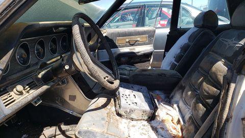 1969 ford thunderbird landau sedan in colorado junkyard