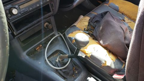 1995 toyota tercel in denver junkyard