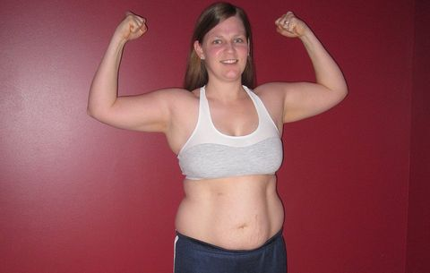 Becky Huff before weight loss