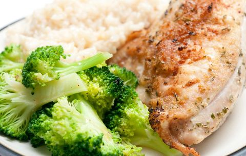 Chicken, broccoli, and rice for weight loss