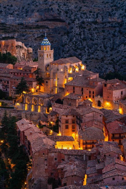 albarracin, spain july 20, 2020 albaracín is a small tourist town in the province of teruel