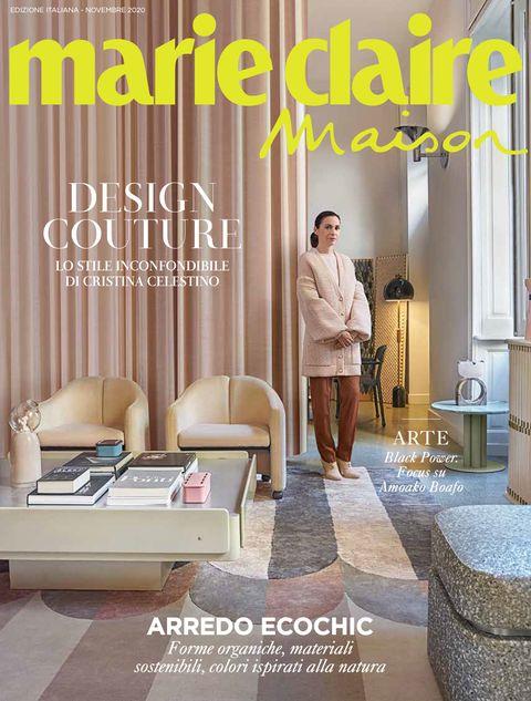 marieclaire maison italia, novembre 2020, contenuti, cristina celestino, case, design