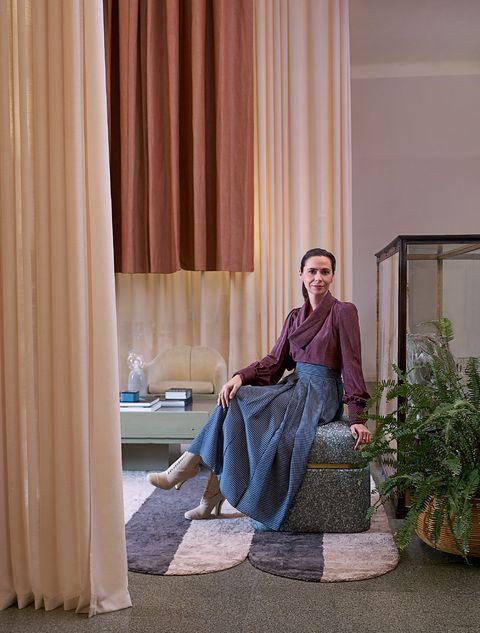 cristina celestino, cover story, marieclaire maison italia, novembre 2020