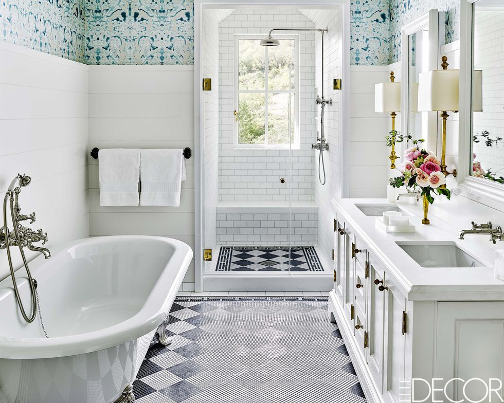 Small bathroom ideas & Small Space Decorating Ideas - Small Apartments and Room Design Tips
