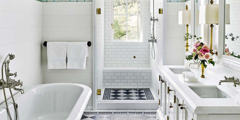 55 Small Bathroom Ideas - Best Designs & Decor for Small Bathrooms on bathroom shower prints, master bathroom flooring ideas, white bathroom flooring ideas, bathroom shower tile, bathroom shower shelves, bathroom shower inspiration, bath flooring ideas, kitchen flooring ideas, bathroom shower patterns, bathroom backsplashes ideas, bathroom shower paint, bathroom shower art, bathroom shower display, contemporary bathroom flooring ideas, dining room flooring ideas, bathroom faucet ideas, decorating flooring ideas, bathroom shower accessories, bathroom shower carpet, bathroom shower chairs,