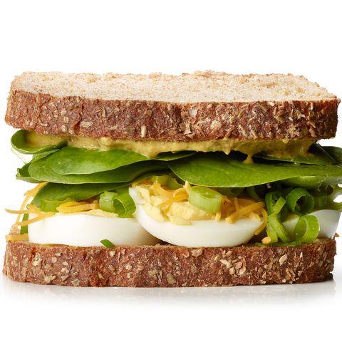 Sandwich à la salade aux œufs