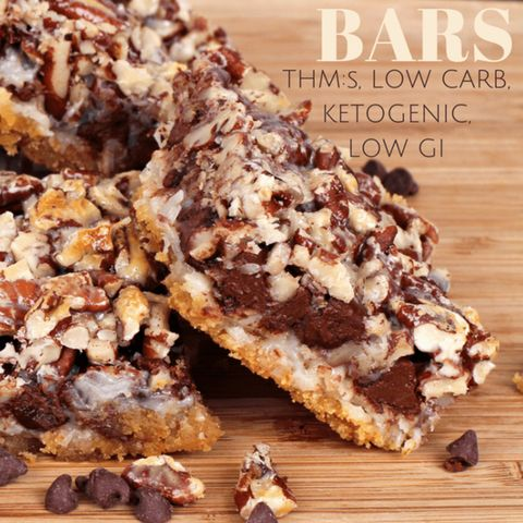 keto seven layer bars