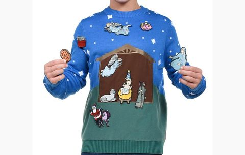 Custom Nativity Scene Sweater