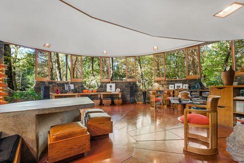 Frank Lloyd Wright Usonia Home For Sale Sol Friedman House