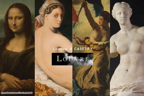 casetify x 巴黎羅浮宮推出《蒙娜麗莎》《大宮女》手機殼、airpods保護殼
