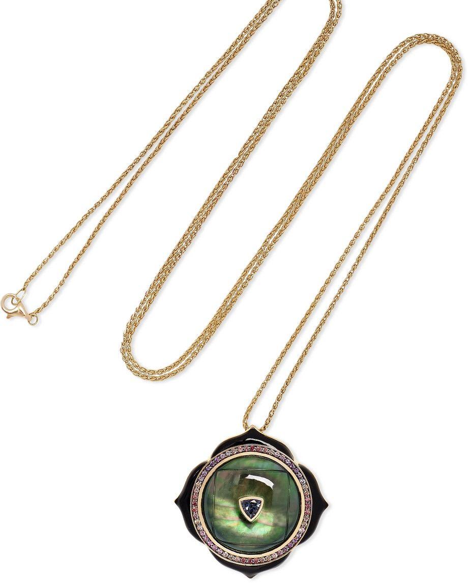 Nathalie Emmanuel - Noor Fares necklace