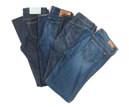 Green Jeans to Flatter Everyone's Figure