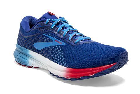 Shoe, Footwear, Running shoe, Outdoor shoe, Sneakers, Blue, Walking shoe, Cobalt blue, Cross training shoe, Electric blue,