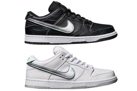 sports shoes 779f0 8c3ae Nike x Diamond Supply Dunk Low. image