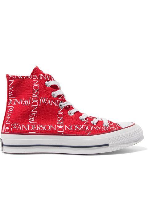 Shoe, Footwear, Sneakers, White, Red, Product, Plimsoll shoe, Carmine, Skate shoe, Athletic shoe,
