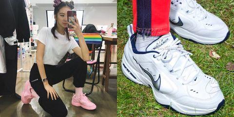 Footwear, White, Shoe, Plimsoll shoe, Pink, Sneakers, Athletic shoe, Sportswear, Ankle, Skate shoe,