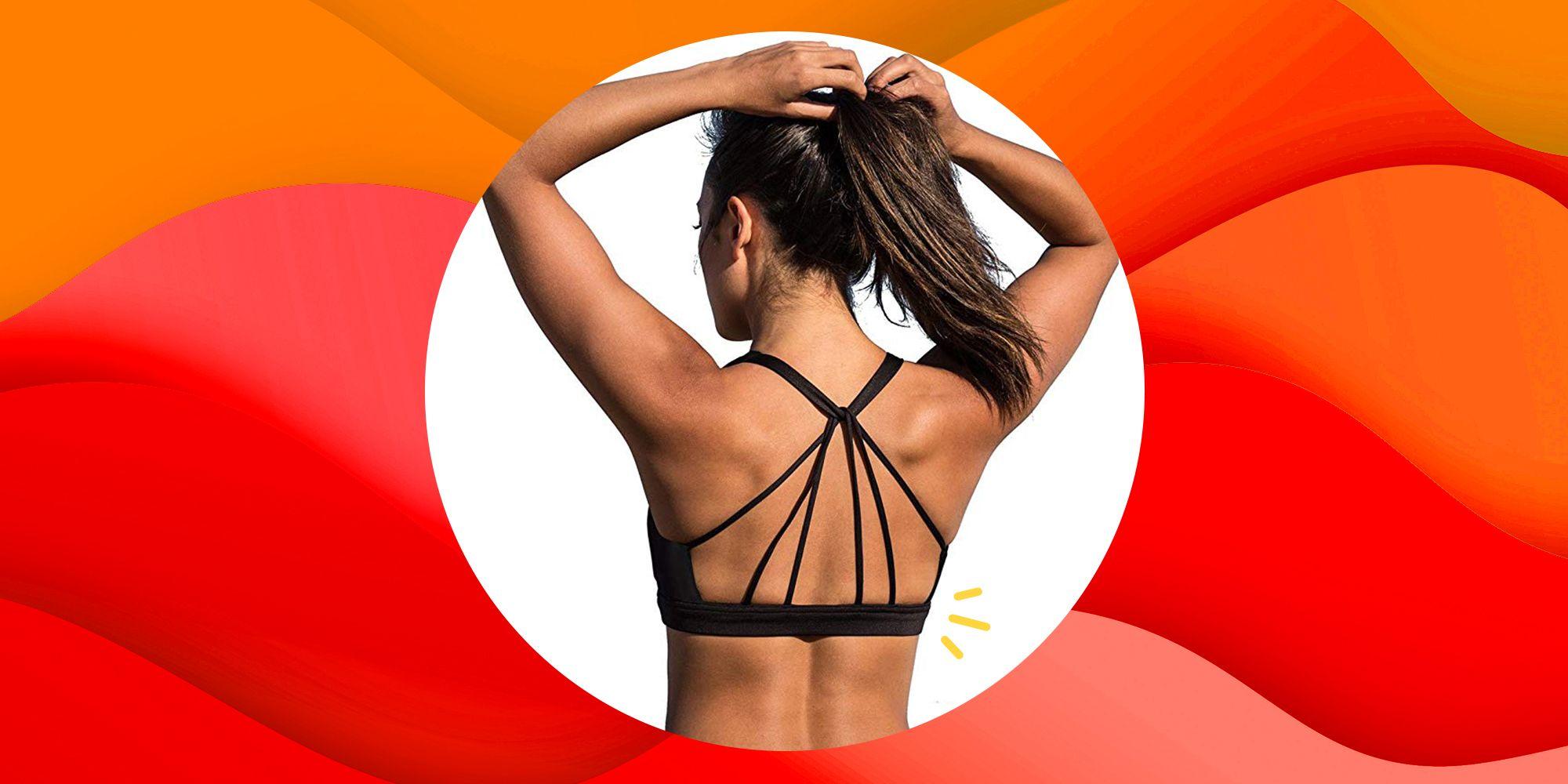 This $17 Yoga Sports Bra Has 600 5-Star Reviews On Amazon