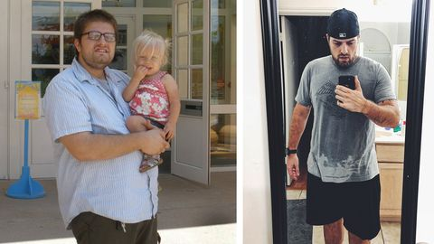 Long Rides Finally Calmed This Man's Severe Anxiety—and Helped Him Drop 110 Pounds