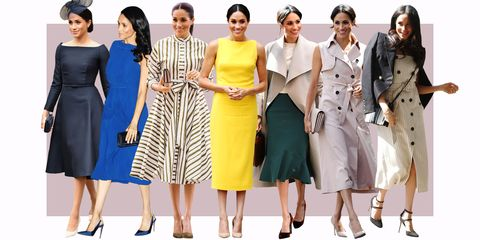 1d0667dd1975 Meghan Markle Best Looks - Meghan Markle Best Outfits 2018