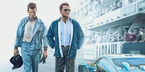 Ford v Ferrari Wins Two Oscars