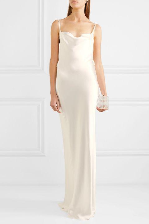 Modern Spring wedding dress - modern wedding dress