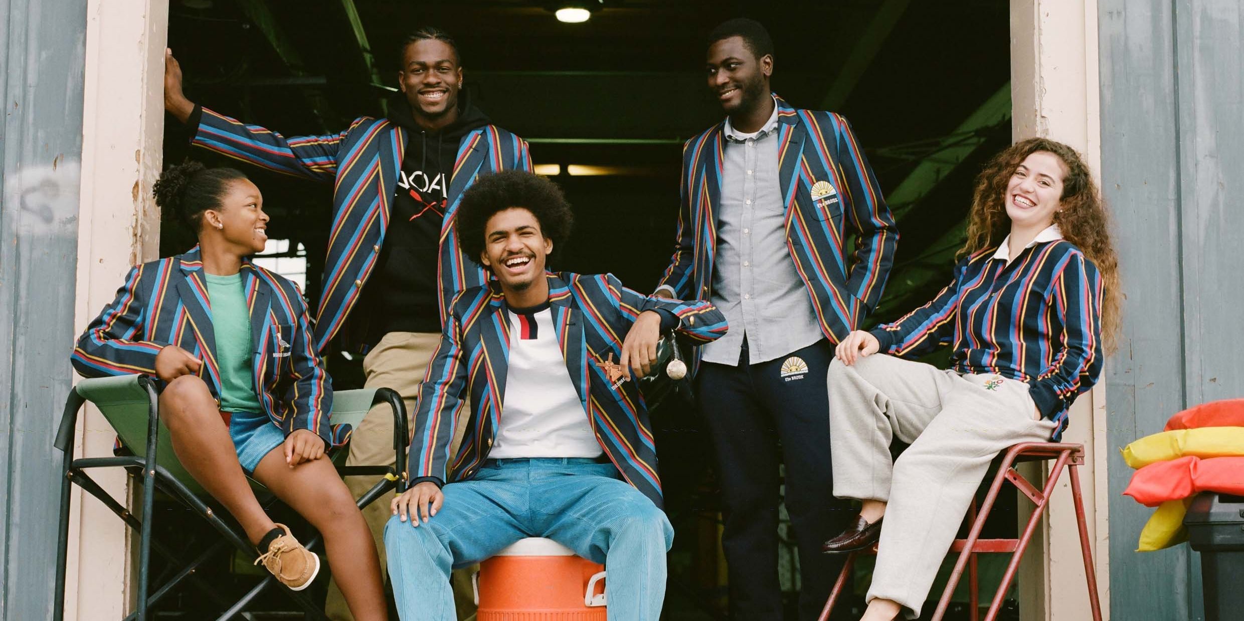The New Noah x Rowing Blazers Collab Is Good for Society and Your Closet