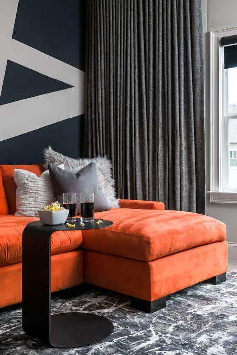 Best Orange Home Decor Tips How To Decorate With Orange