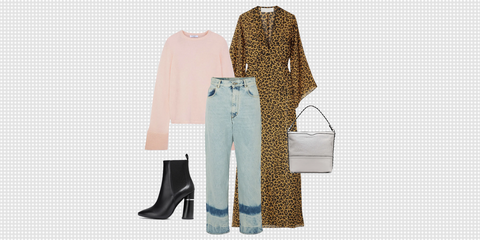 Clothing, White, Fashion, Turquoise, Jeans, Footwear, Design, Outerwear, Trousers, Suit,