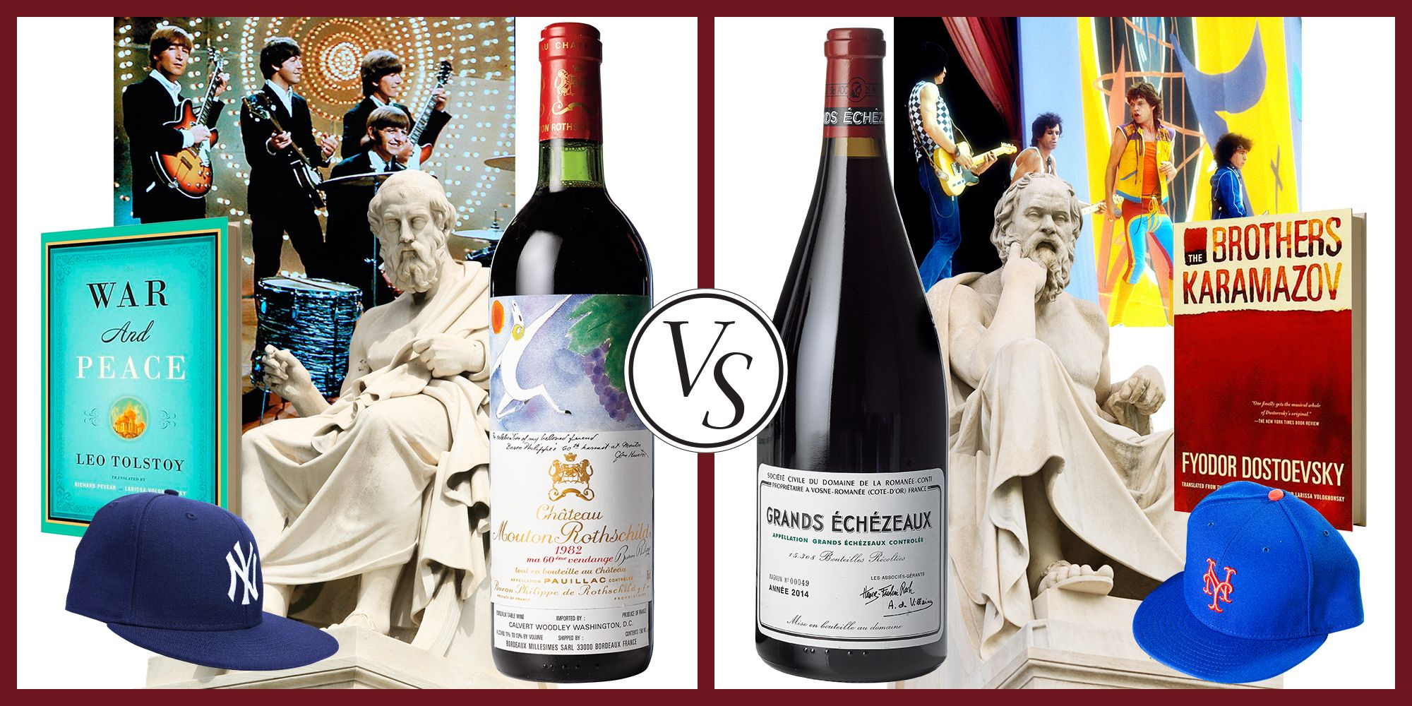 Pick a Side in the Great Red Wine Wars: Bordeaux or Burgundy?