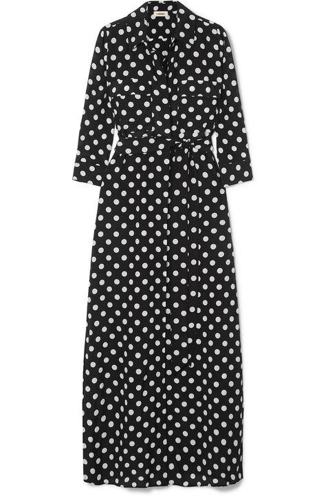 L'agence polka dot dress Net a porter