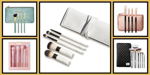 Product, Peach, Cosmetics, Rectangle, Brush, Lipstick, Stationery, Silver, Makeup brushes, Personal care,