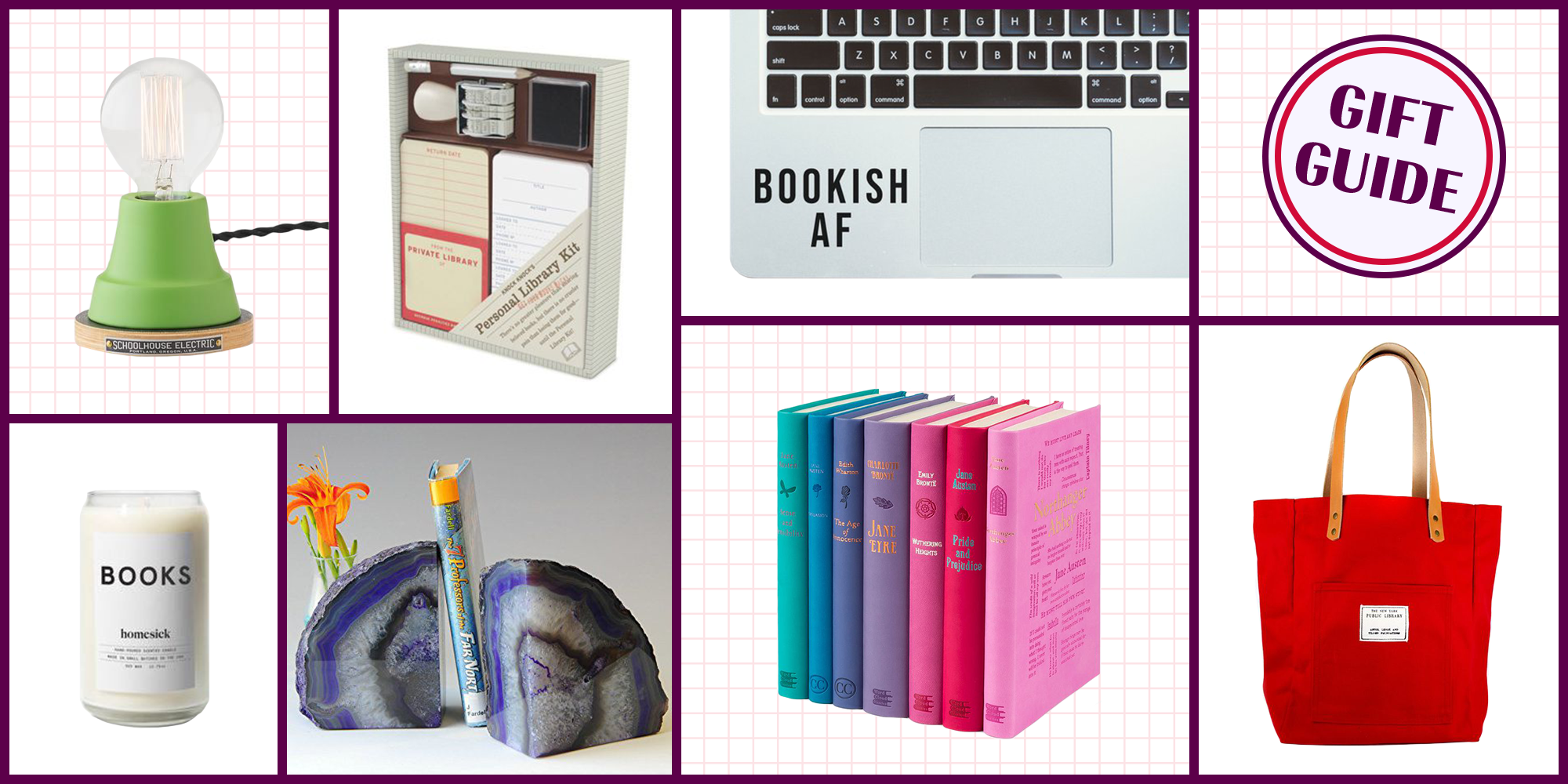 16 Christmas Gifts for Book Lovers 2017 - Best Book Gifts for Readers
