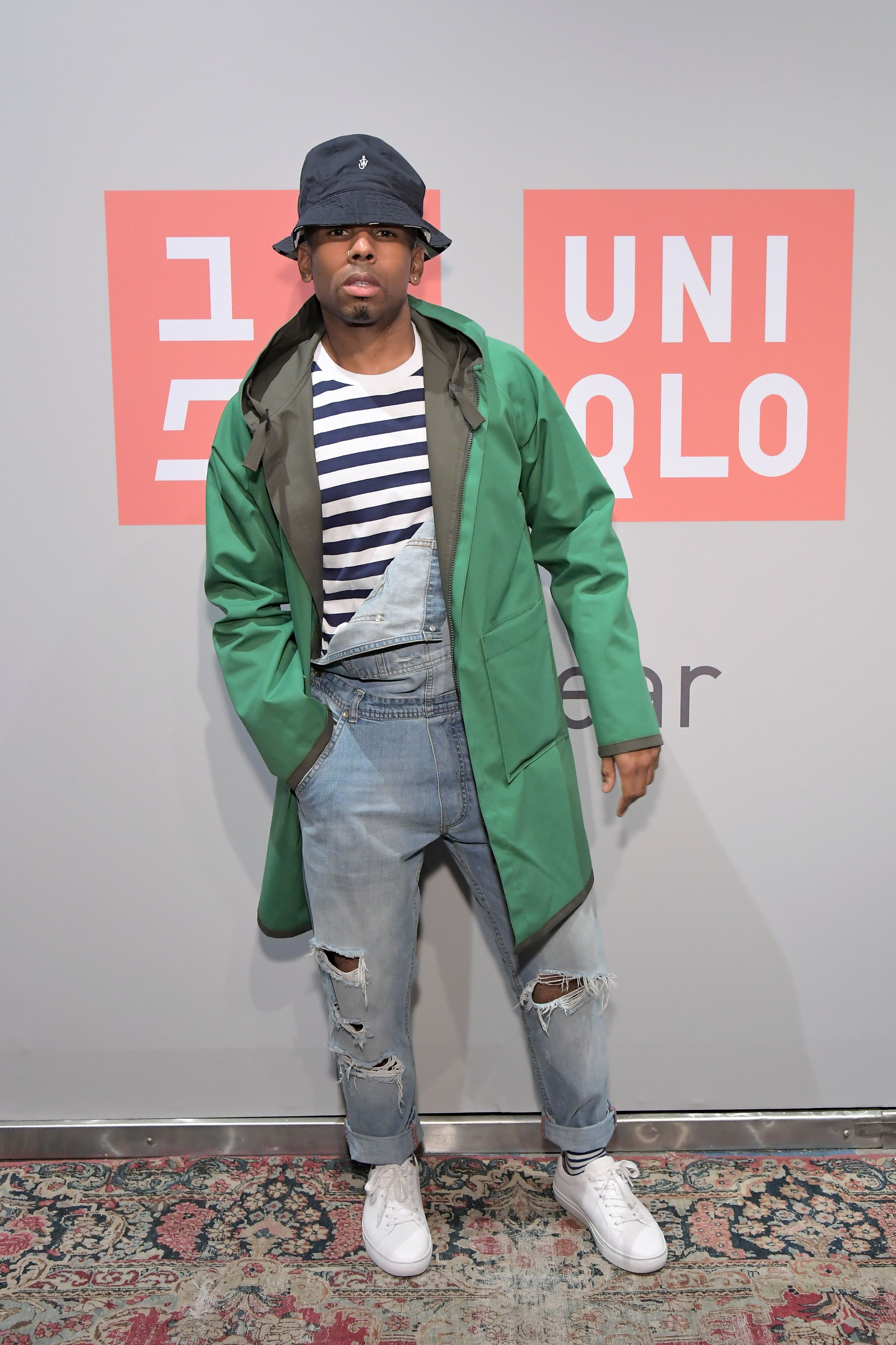 Darren Moulden Darren Moulden attends the UNIQLO 2019 Collections Celebration at Smogshoppe  in Los Angeles, California on March 7.