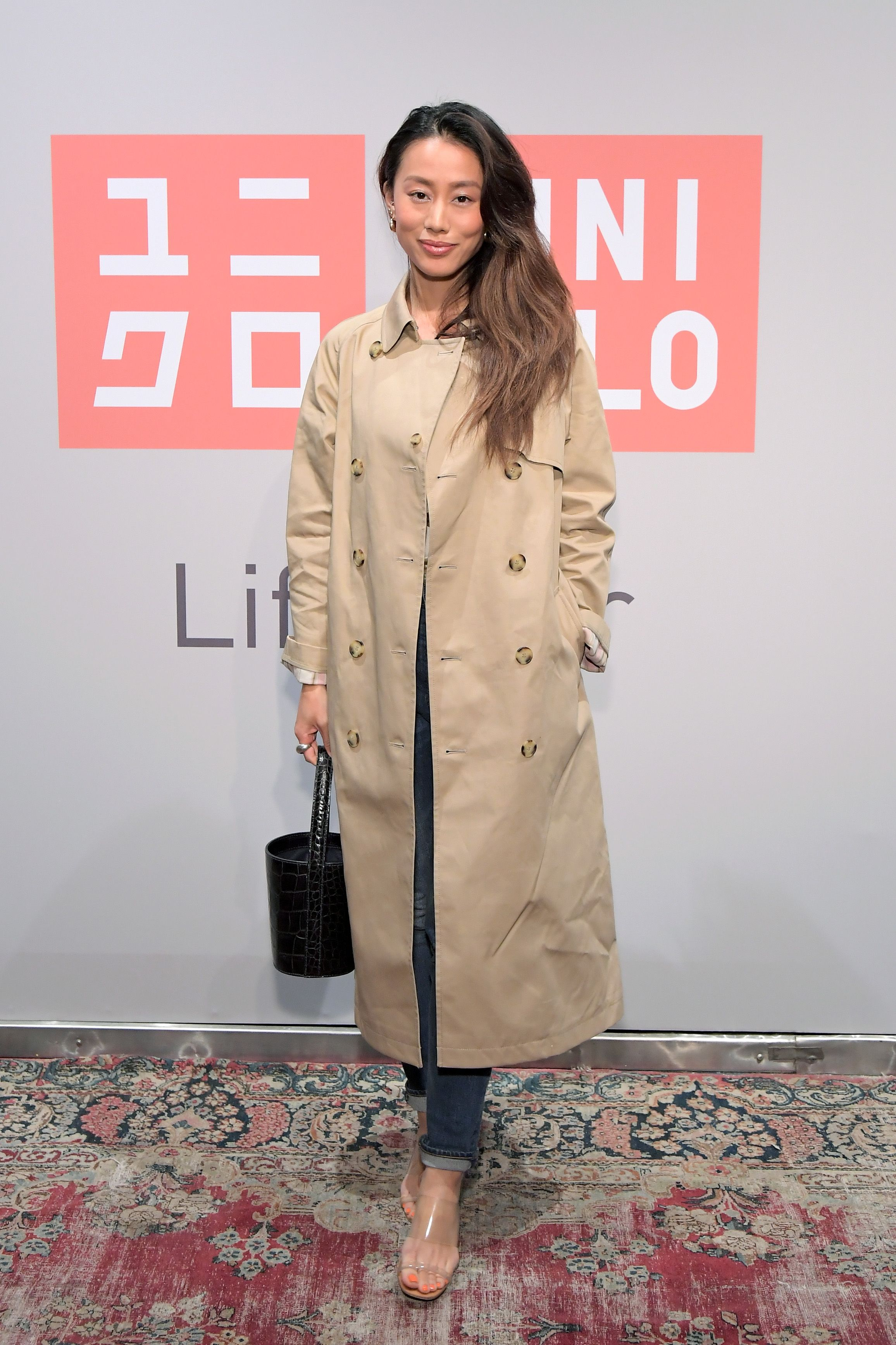 Jenny Ong Jenny Ong attends the UNIQLO 2019 Collections Celebration at Smogshoppe in Los Angeles, California on March 7.
