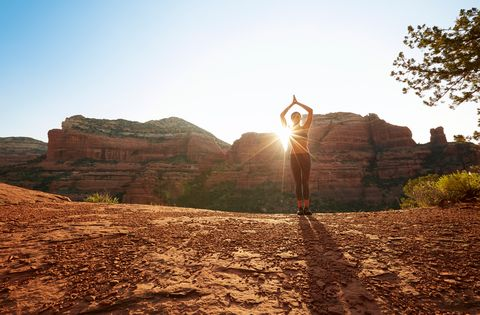Natural landscape, Sky, Nature, Mountainous landforms, Wadi, Mountain, Light, Rock, Wilderness, Natural environment,