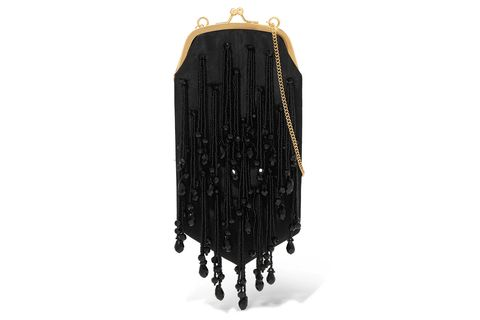 Outerwear, Bag, Fashion accessory, Leather, Chain,