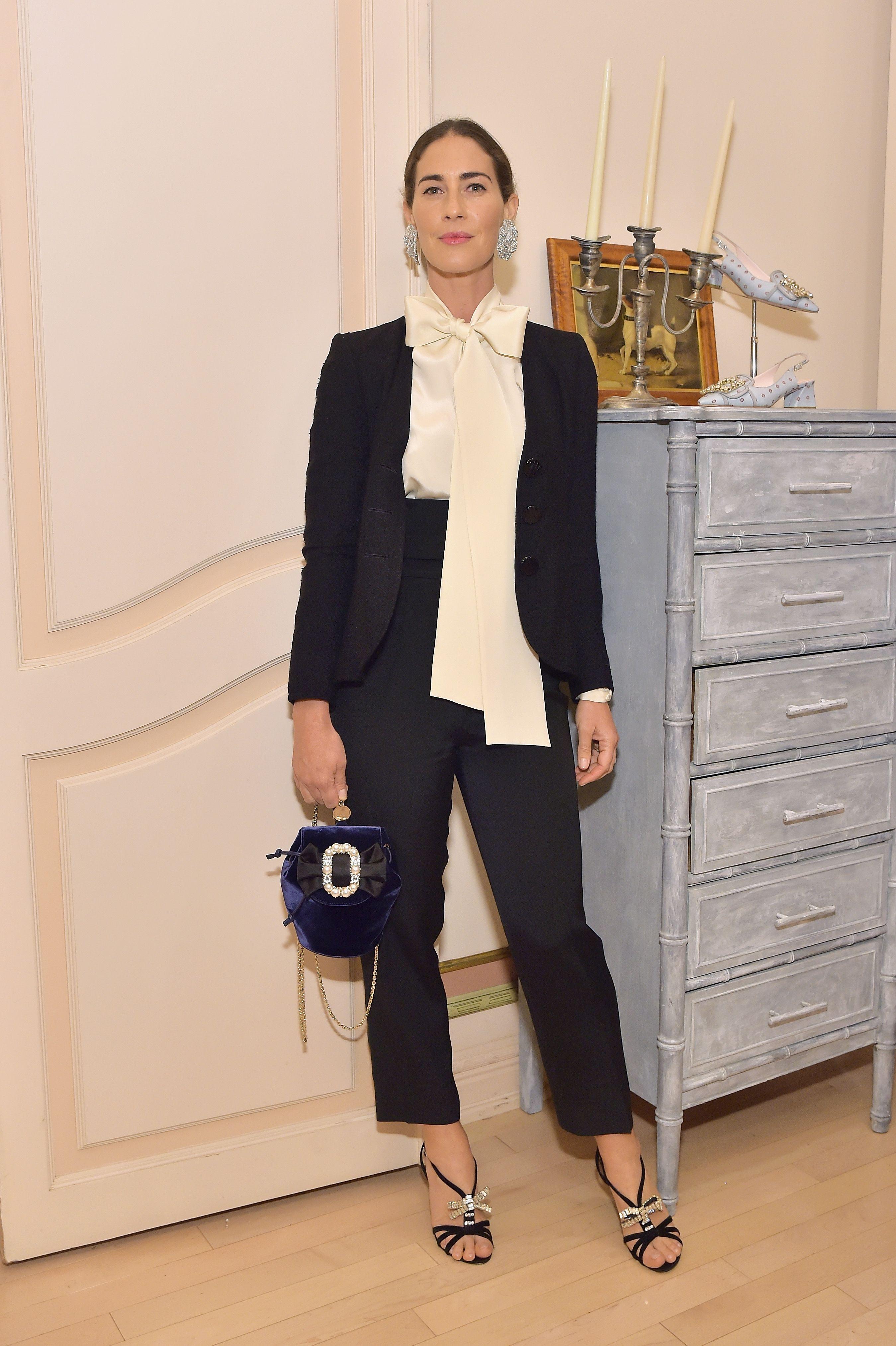 Rebecca de Ravenel Rebecca de Ravenel attends the Hotel Vivier Los Angeles event hosted by Ines de la Fressange and Gherardo Felloni on April 2 in Beverly Hills, California.