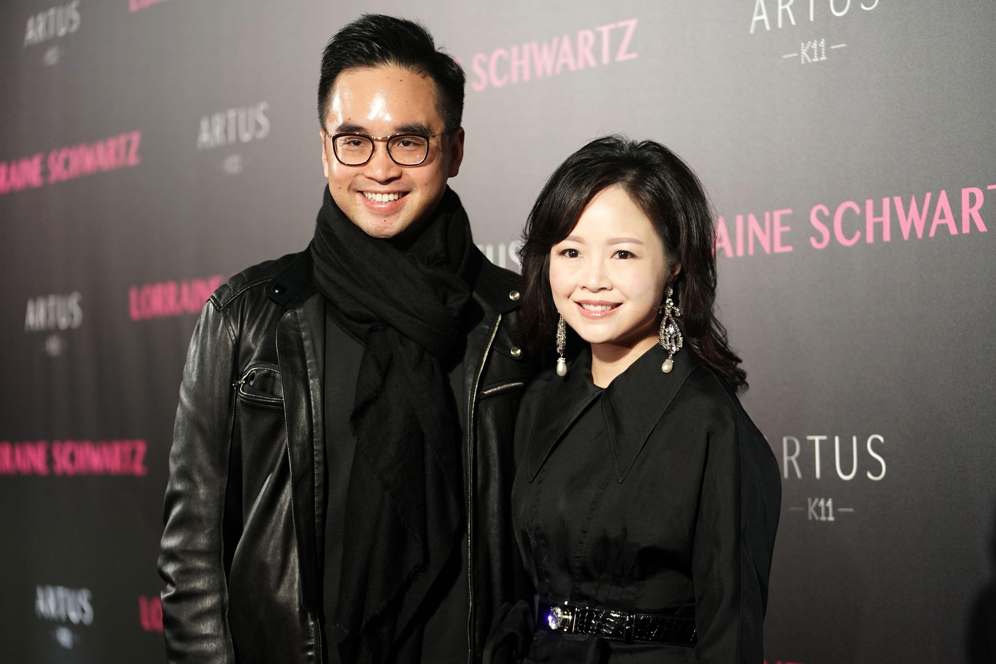 Adrien Cheng and Jennifer Yu Adrien Cheng and Jennifer Yu celebrate the jewelry of Lorraine Schwartz during Hong Kong Art Basel on March 24.