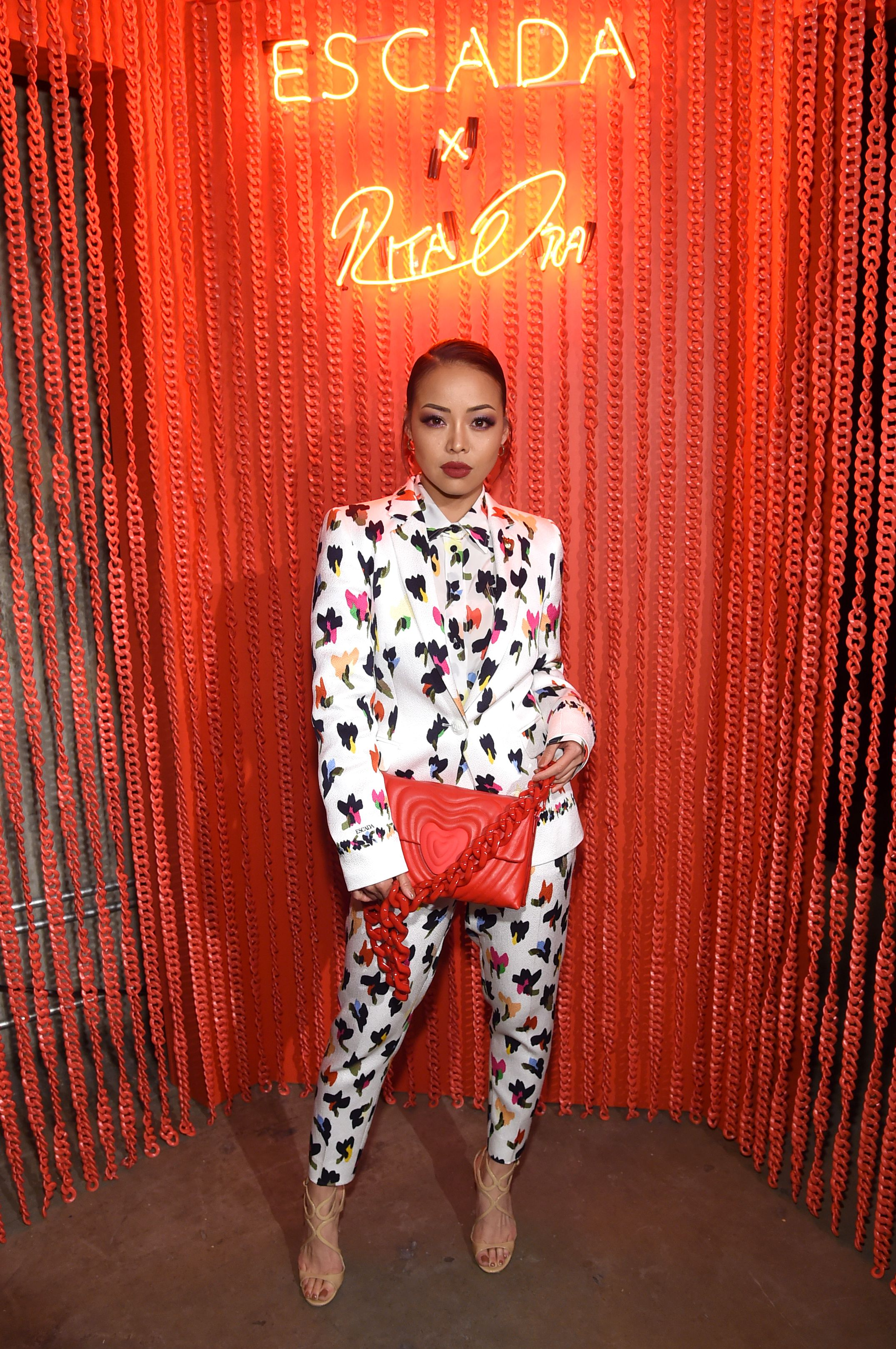 Maasa Ishihara Maasa Ishihara  attends the launch of the Escada Heartbag by Rita Ora on March 27 in New York City.